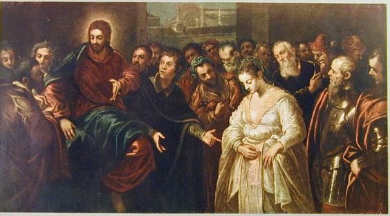 Domenico Tintoretto, Adultera, Copenhagen