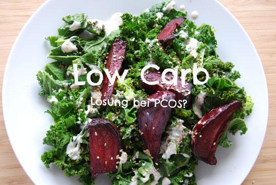 Wenig Kohlenhydrate beim PCO-Syndrom (PCOS) Low Carb Diät und Glykämischer Index