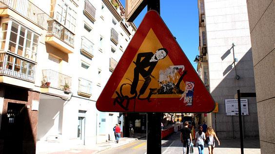 Malaga Calle de la Carreteria