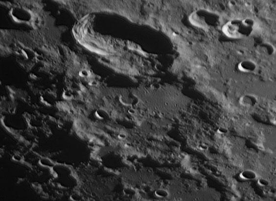 Hainzel (längl. Formation)  und Mee, Aufnahme vom 08.06.2014