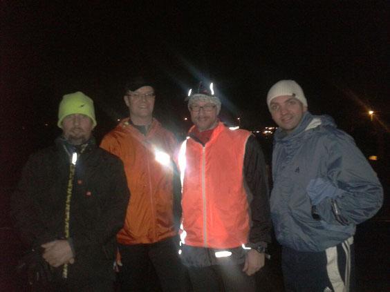 erster Lauftreff 04.12.2012