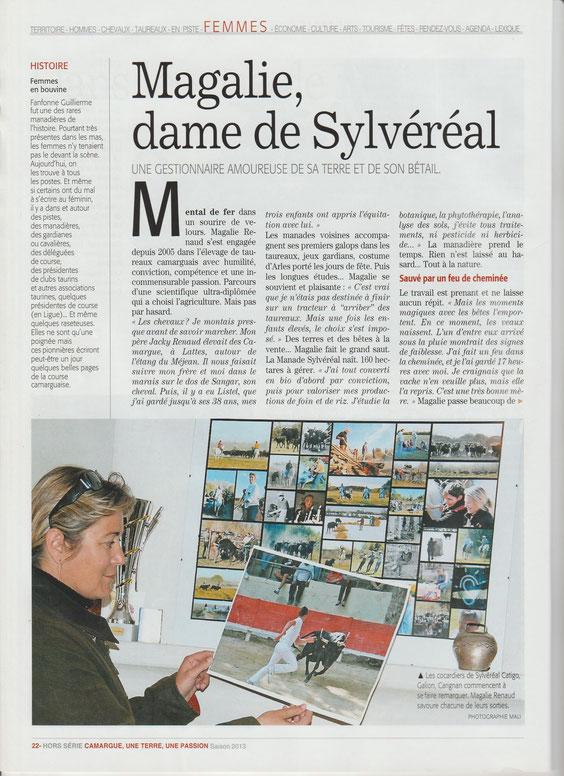 le Domaine de Sylvéréal se situe entre Aigues-Mortes et les Saintes Maries de la Mer , il se visite en 4x4 ou en petit train