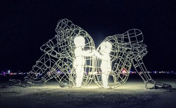 Imagen de la escultura Amor de Milov