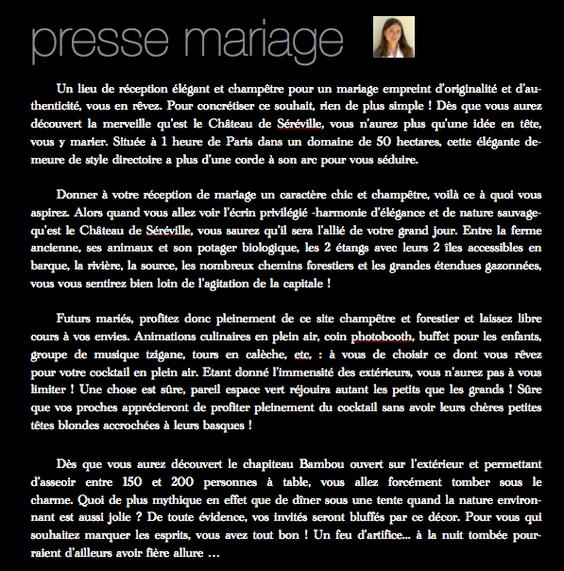 mariage dans un château château près de paris proche de paris autour de paris île de france mariage chic et champêtre château mariage