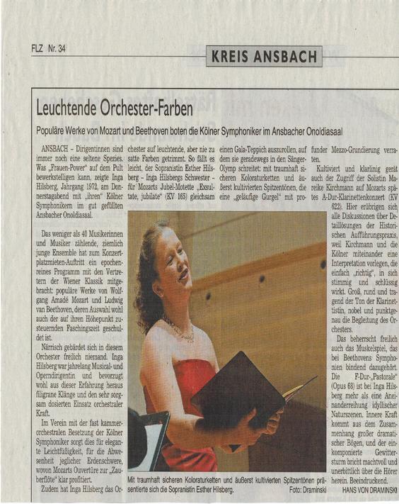 Orchesterkonzert 2/2013 Ansbach