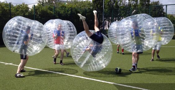 Bubble football, nuovo sport del futuro anti-contagio?