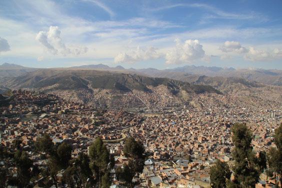 La Paz...une capitale à 4000 m d'altitude
