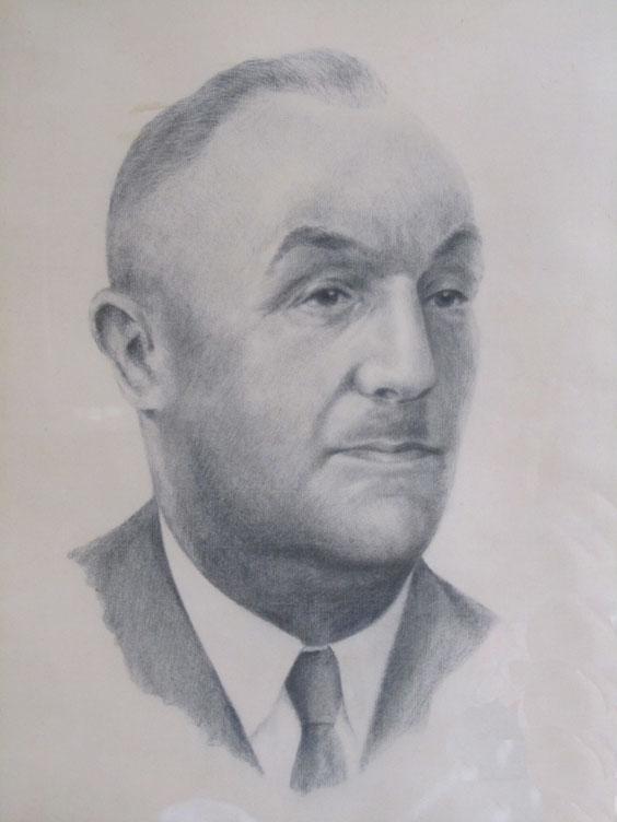 Portrait Johann Warneke 88