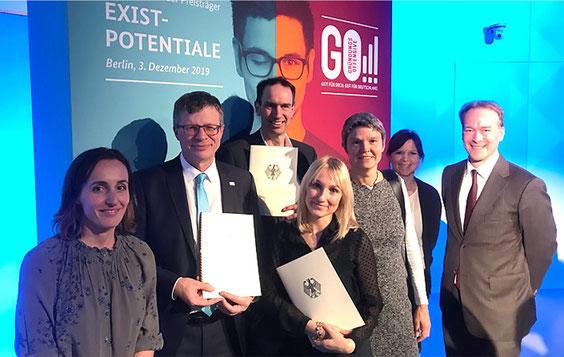 Fit for Invest: Feierliche Bekanntgabe der Förderentscheidung im Futurium in Berlin am 3. Dezember 2019