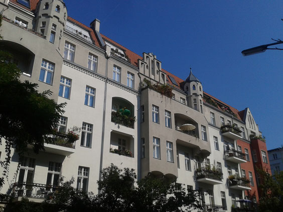 Hausfront Wartburgstraße - Berlin Schöneberg