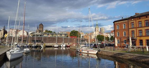 Hafen Stralsund Ferienwohnung Ruegen