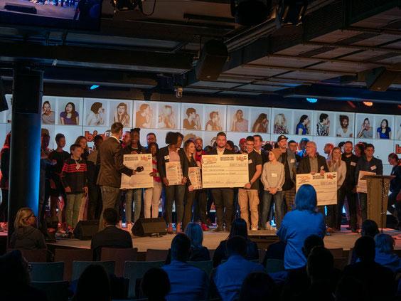 Die Preisverleihung fand im SpardaWelt Eventcenter in Stuttgart statt.