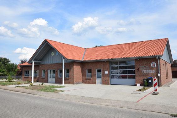 Dörfergemeinschaftshaus Vierden (Foto: Harald Schmittchen, 2018)