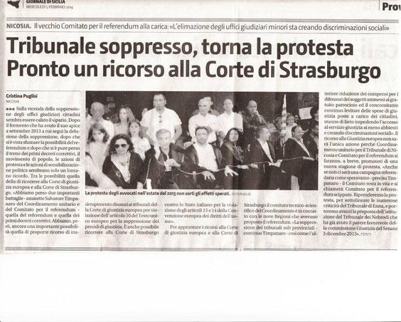 Giornale di Sicilia - mercoledì 5 febbraio 2014
