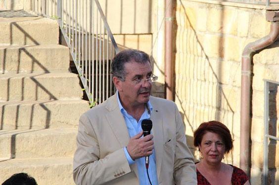 Consiglio intercomunale del 19 luglio 2013.Intervento dell'Avv. Timpanaro. Con l'On. Avv. Maria Greco.