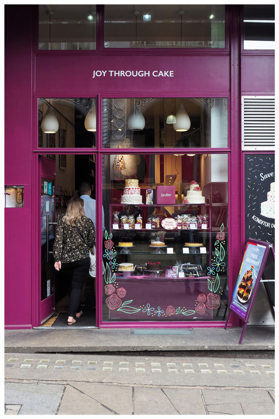 Ladenfront Joy Through Cake in London