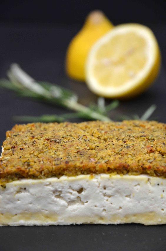 Veganes Schlemmerfilet aus Tofu.