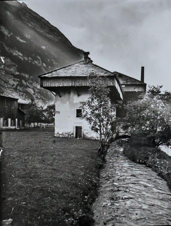 """Rappenfabrik"" um 1900"