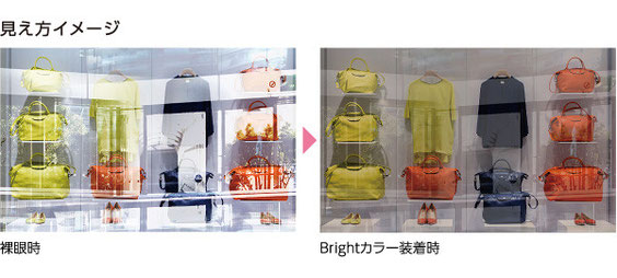 HOYA POLATECH ホヤ ポラテック Brightカラーシリーズ