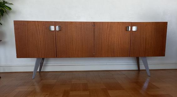 Pied de meuble sur-mesure pour relooking d'un buffet vintage
