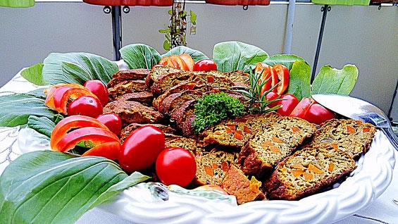 Cashew - Festtagsbraten mit Tomaten und Pak Choi