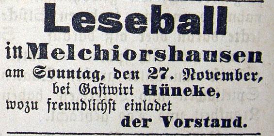 Syker Zeitung 26.11.1904