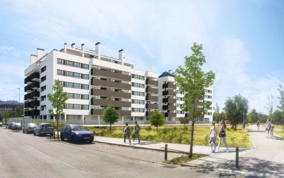 Edificio residencial para Grupo Larvin. Infoarquitectura 3D