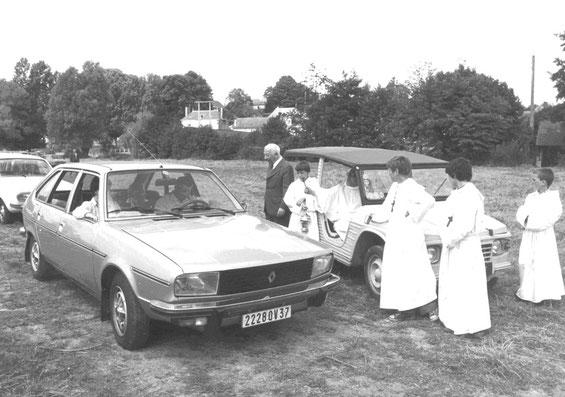 La bénédiction des voitures en 1978