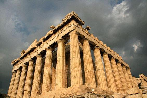 Le Parthénon en Grêce