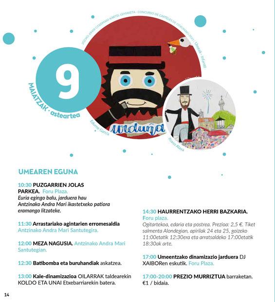Fiestas de Otxomaio en Orduña