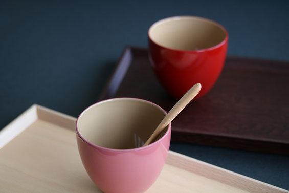 日本の伝統色 うるしカップ