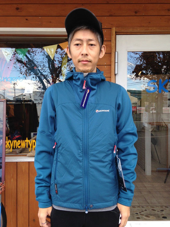 MONTANE(モンテイン)Alpha Guide Jacket (Morrocan Blue) ¥25920(税込)