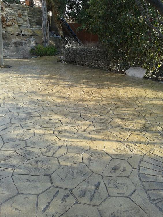 beton amprentat mangalia