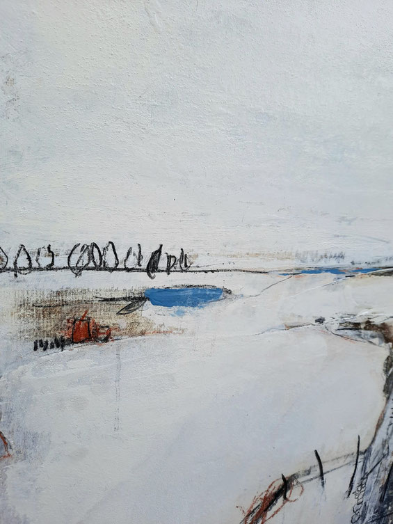weisse abstrakte Bilder Gemälde