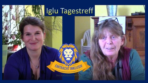 Viola und Hanne vom Iglu Tagestreff in unserem Video