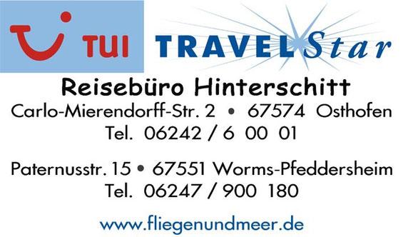 Unser Partnerreisebüro in Osthofen und Pfeddersheim