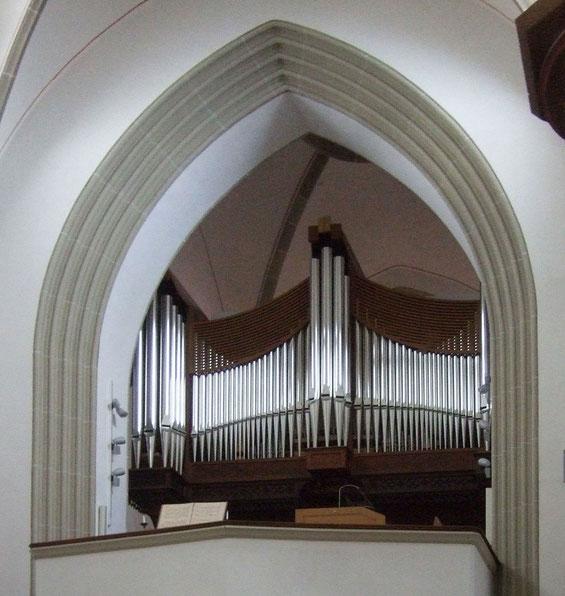 Die neue Merten-Orgel 2015 - Foto: HPD