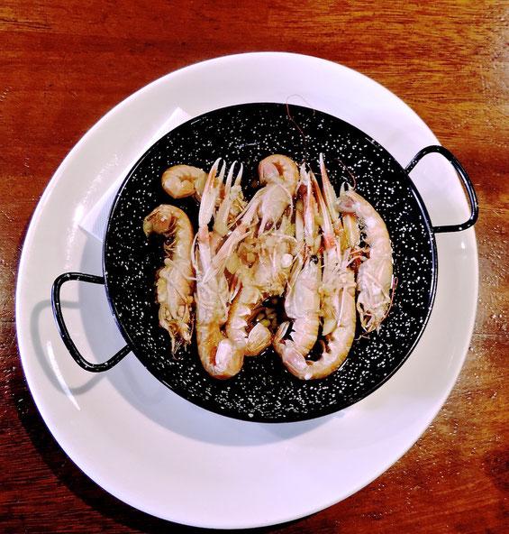 Vitolina de cigalas de Dénia. Uno de los platos con mayor demanda en El Marino Port