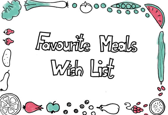 Beatrice Winkel - Favourite Meals Wish List
