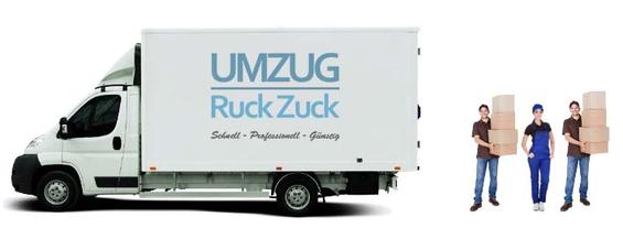 Umzug München - 3 Mann + 1 LKW