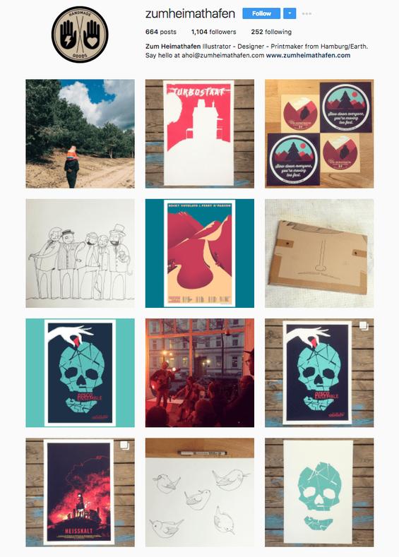 Profil Instagram de zumheitmathafen