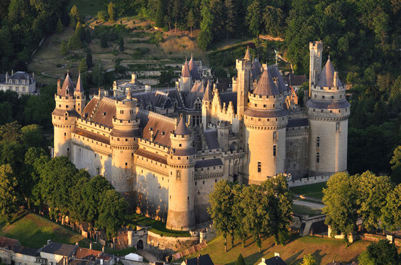 Photo, Château de Pierrefond.