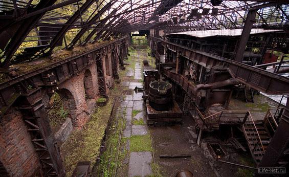 заброшенные цеха Демидовских заводов
