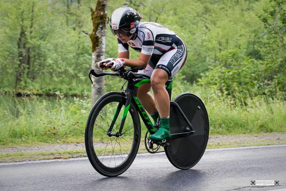 Regionalsport ÖAMTC Tom Siller RC Radclub Tirol Einzelzeitfahren Grünau im Almtal