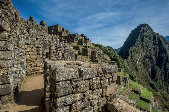 Auf dem Lares TRek nach Machu Picchu mit PERUline