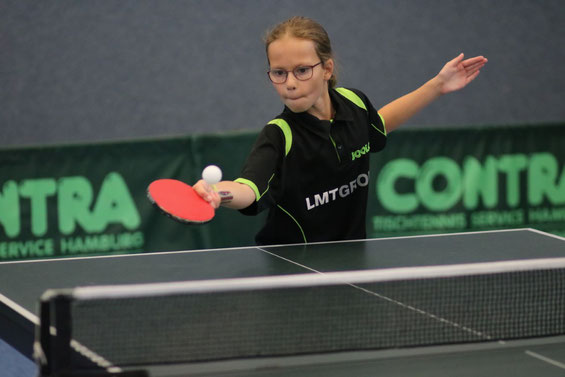 Die zehnjährige Landeskaderathletin Joleen Frink vom TSV Schwarzenbek avancierte mit fünf Goldmedaillen zur fleißigsten Titelsammlerin bei den 47. Sachsenwaldmeisterschaften 2018.