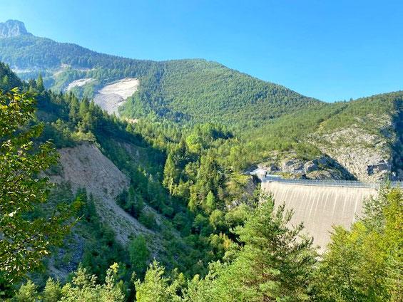 Diga del Vajont Monte Toc Dolomiti bellunesi