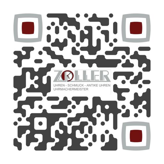 QR-Code Fabian Zoller, Uhrmachermeister zu Hall in Tirol