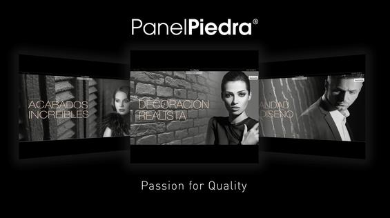 Panel Piedra - Neue Internetseite