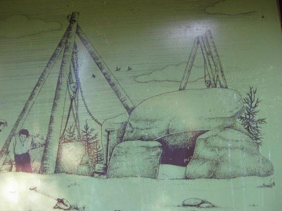 Wiederaufbau Königsgrab Foto AReiners